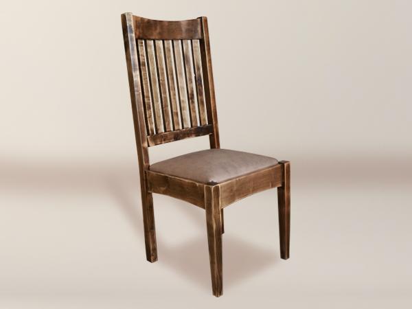 Braeburn Spindle Curved Back Upholstered Chair