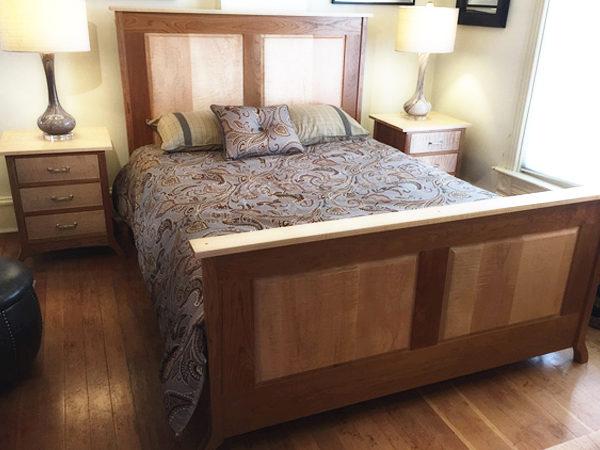 Jonathan Raised Panel Bedroom Set – Appleton Furniture Design ...
